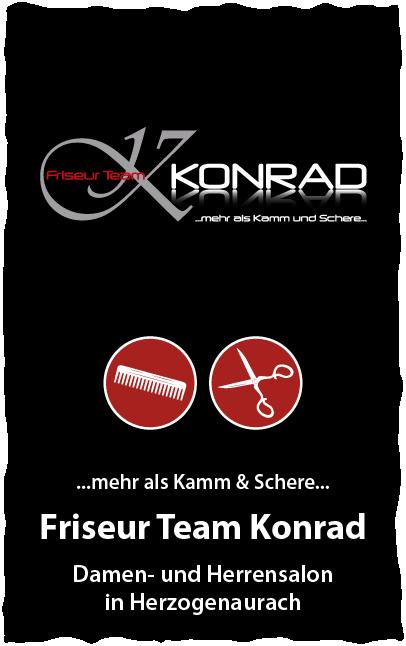 Friseur Team Konrad Herzogenaurach Damen und Herrensalon in Franken